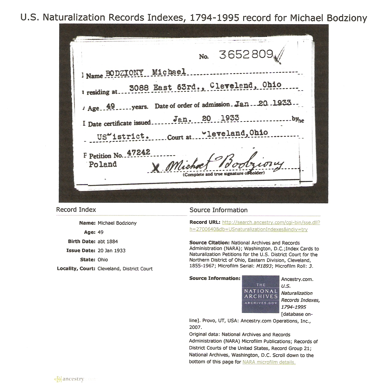 Bodziony family documents the spiraling chains kowalski death certificate source social security applications and claims index dob listed as 29 jun gravestone photo1 photo2 calvary cemetery cleveland 1betcityfo Choice Image